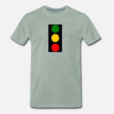 Light traffic lights - Men's Premium T-Shirt
