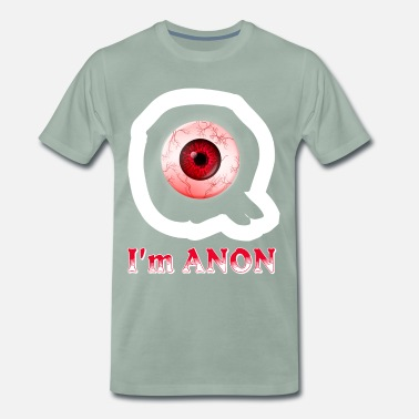 Hour Glass I am anonymous - Men's Premium T-Shirt