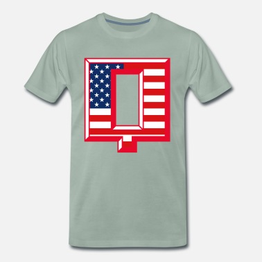 Venice Beach Q USA - Premium T-skjorte for menn