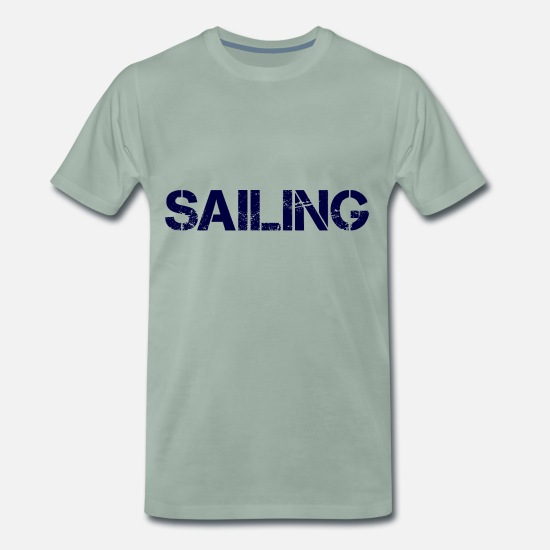 Sport T-Shirts - Sailing Navy - Men's Premium T-Shirt steel green