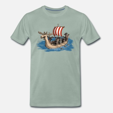 Viking Moose - T-shirt premium Homme