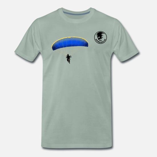 Standard Edition parachutistes II parachute Glide Evolution t-shirt s-xxxl