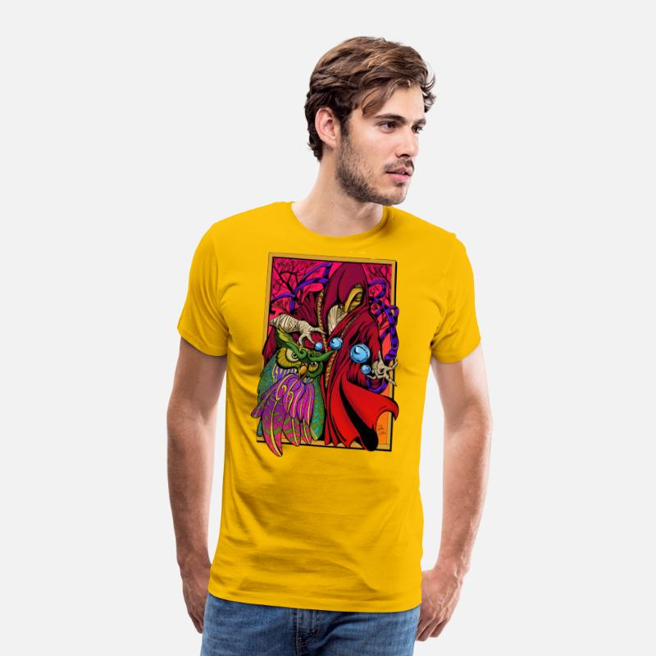 5ac8c14f1 Creador de universos Camiseta premium hombre
