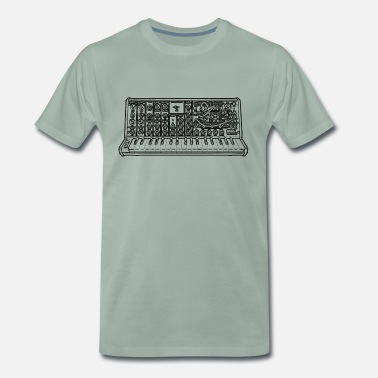 Synthesizer Synth - Männer Premium T-Shirt