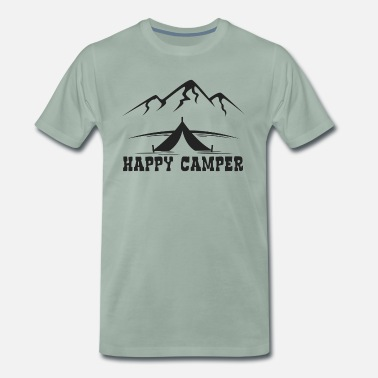 Pretty Pretty Happy Camper - Men's Premium T-Shirt