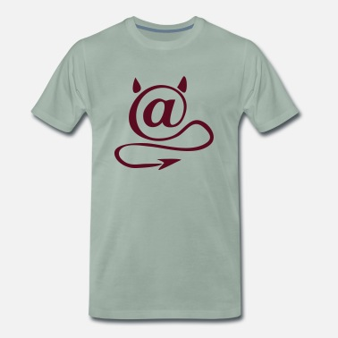 Email ond email - Premium T-shirt mænd