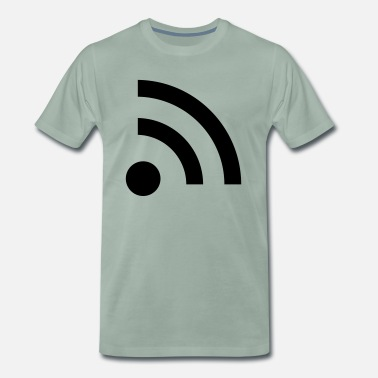 Internet connect_f1 - Männer Premium T-Shirt