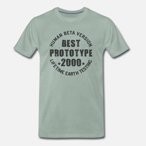2000 - El año de nacimiento de prototipos legendarios Camiseta ... 8558fe5eaae0e