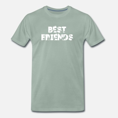Companion friends dog best friends dog dogs tshirt shirt - Men's Premium T-Shirt