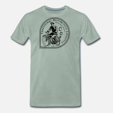 Nsu Traditional Motorcycle Lifestyle - Männer Premium T-Shirt