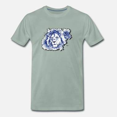 Lynx Lion King Jungle Africa Safari Animal - Mannen premium T-shirt