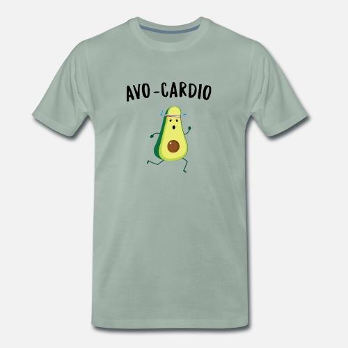 77f501c4 Avocardio avocado fitness Men's Premium T-Shirt | Spreadshirt