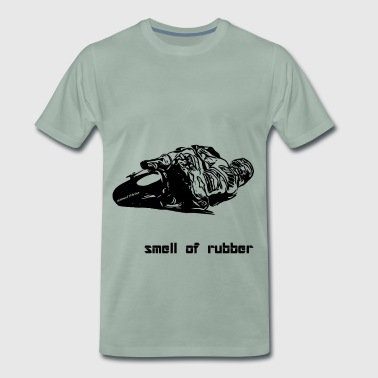 Smell_of_rubber_schwarz - Men's Premium T-Shirt