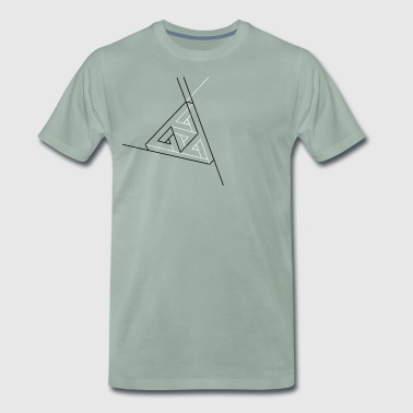 Penrose links - Männer Premium T-Shirt