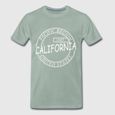 California - Premium-T-shirt herr