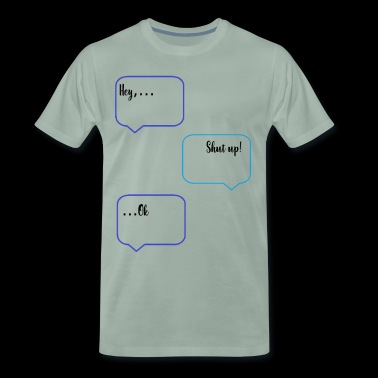 Chat SMS - T-shirt Premium Homme