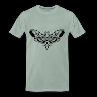 Death Head Moth / tattoo - Premium-T-shirt herr