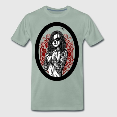 Women with tattoo - T-shirt Premium Homme