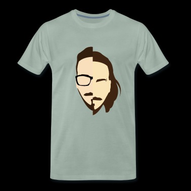 Federico Bearded Collection - Men's Premium T-Shirt
