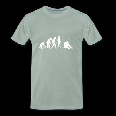 EVOLUTION STRESS BURNOUT BURN OUT - Männer Premium T-Shirt
