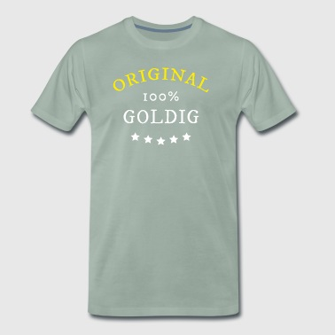 Original 100% Gold, gift - Men's Premium T-Shirt
