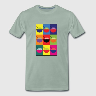Pop Pho Art - Mannen Premium T-shirt