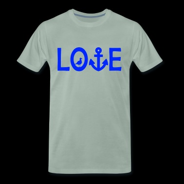 Love anchor logo - Men's Premium T-Shirt