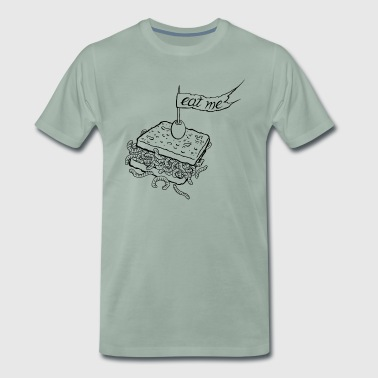 eat me taste of ink tattoo designs - Männer Premium T-Shirt