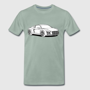 Super Car - Men's Premium T-Shirt