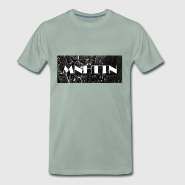 MNHTTN - New York Manhattan Downtown - Premium T-skjorte for menn