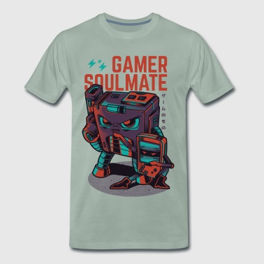 Gamer Soulmate - Men's Premium T-Shirt