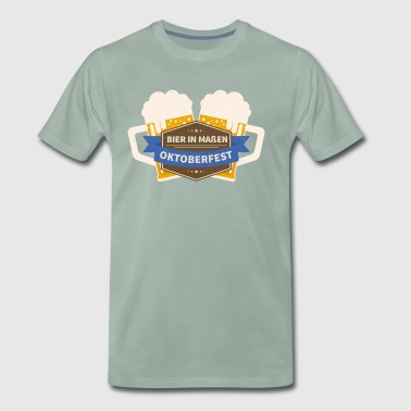 Beer in moderation Octoberfest - Men's Premium T-Shirt