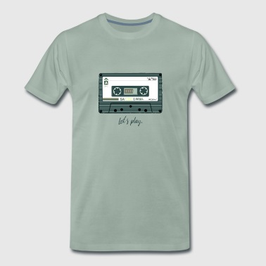 Cassette design - Men's Premium T-Shirt