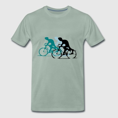 trio Cycling - T-shirt Premium Homme