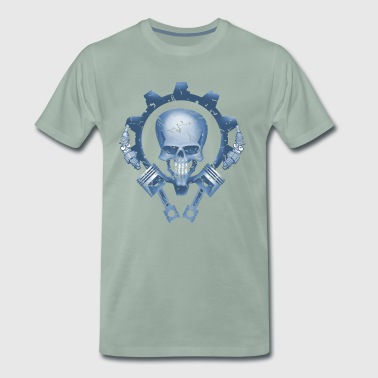 Skull Piston Tuning - Men's Premium T-Shirt
