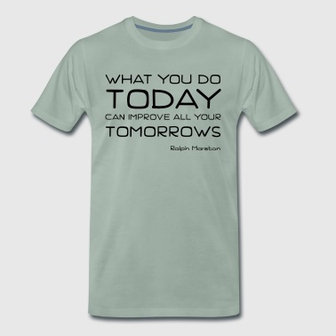 Act today - Men's Premium T-Shirt