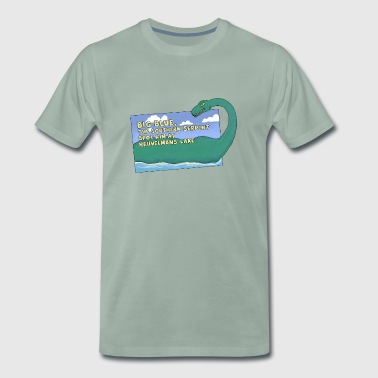 BIG Blue By Mimie - Camiseta premium hombre