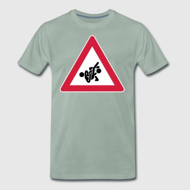 STREET SIGN-SERIE: Grappling-01 - Premium-T-shirt herr