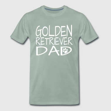 Golden Retriever Dad - Mannen Premium T-shirt