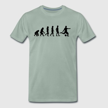 Evolution football - Men's Premium T-Shirt