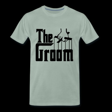 The Groom. Stag Party. Husband to Be. Bridegroom. - Men's Premium T-Shirt