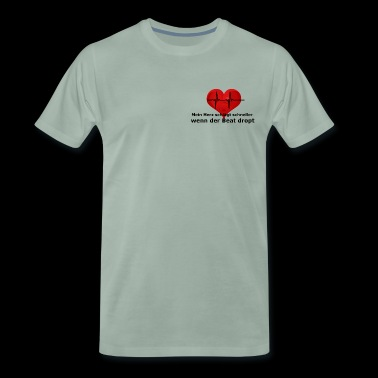 heart rate - Men's Premium T-Shirt