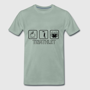 triathlète de basket-ball - T-shirt Premium Homme