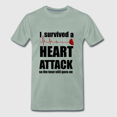Heart attack - Men's Premium T-Shirt