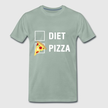 Pizza VS Diet Food Lover - Männer Premium T-Shirt