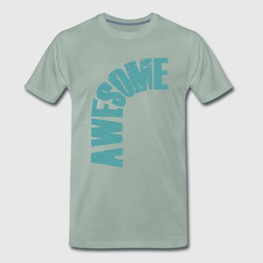 impressionnant, lettrage motivationnel - T-shirt Premium Homme