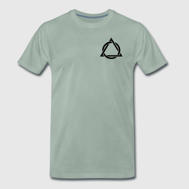 summit triangle - Men's Premium T-Shirt
