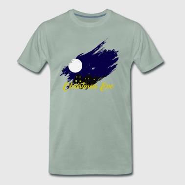 Christmas Eve Christmas Eve Full Moon - Men's Premium T-Shirt