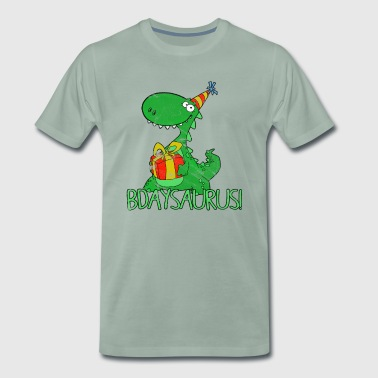 Dinosaur Kids Birthday Gift Kids - Men's Premium T-Shirt