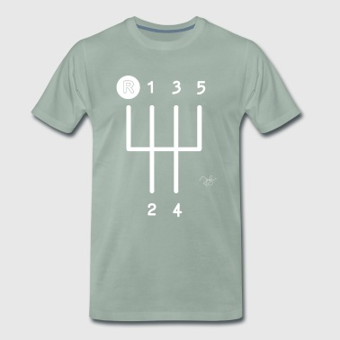 Gear Shift - Men's Premium T-Shirt